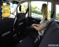 Slutty Passenger Banged In Taxi - scene 6