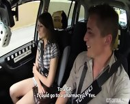 Hardcore Sex In The Taxi - scene 2