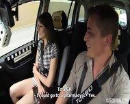 Hardcore Sex In The Taxi - scene 2