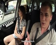 Hardcore Sex In The Taxi - scene 3