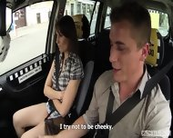Hardcore Sex In The Taxi - scene 5
