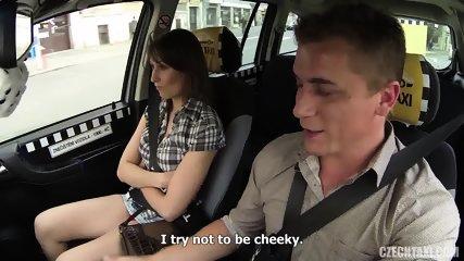 Hardcore Sex In The Taxi - scene 5