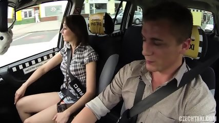 Hardcore Sex In The Taxi - scene 6