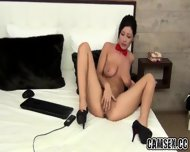 Hot Milf Rubs Her Tight Pussy On Cam - scene 6