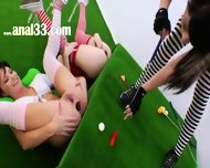 Three Anal Queens And Brutal Vibrators - scene 1