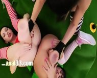 Three Anal Queens And Brutal Vibrators - scene 7