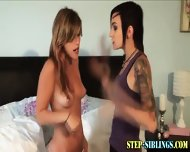 Teen Lez Step Sib Licks - scene 2