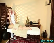 Tat Chick Gets Massage - scene 1