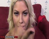 Interracial Cumshot Babe - scene 12