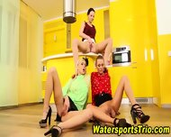 Classy Lesbos Drink Piss - scene 11