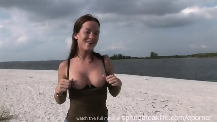 Flashing At The Beach - scene 7