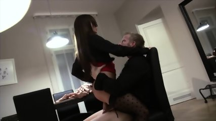 Horny Brunette With Stockings Wants To Be Fucked Hard - scene 9
