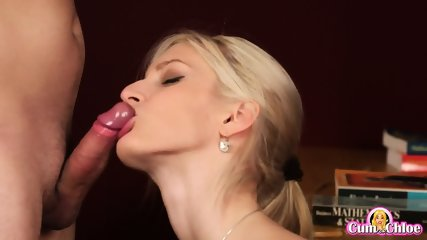 Sperm Load On Her Sexy Face - scene 7
