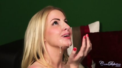 Oral Fantasies With Horny Blonde