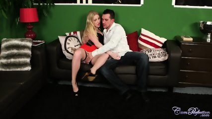 Oral Fantasies With Horny Blonde - scene 1