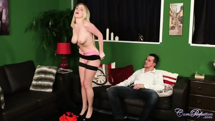 Oral Fantasies With Horny Blonde - scene 3