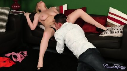 Oral Fantasies With Horny Blonde - scene 5