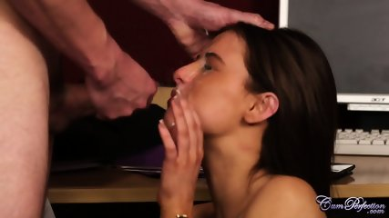 Cum Surprise For Lovely Teen - scene 10