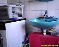 Nice Body Bathroom Bate - scene 5