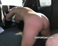 Very Cute Teen Girl Sucks Strangers Dick - scene 10