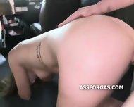 Very Cute Teen Girl Sucks Strangers Dick - scene 12
