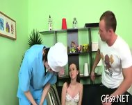 Chaste Pussy Getting Drilled - scene 4