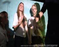Midget Wins Wet T Contest - scene 2