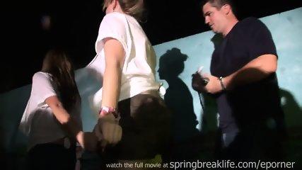 Midget Wins Wet T Contest - scene 5