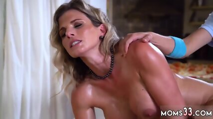 Milf likes young cock Watch her enjoy his load inwards her gullet at the end.