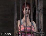 Brutal Beating Of Babe's Bottom - scene 1