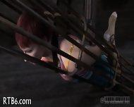 Brutal Beating Of Babe's Bottom - scene 8