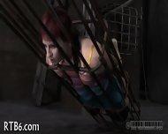 Brutal Beating Of Babe's Bottom - scene 9