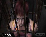Brutal Beating Of Babe's Bottom - scene 11