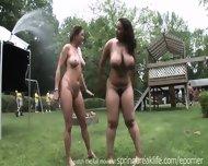 Playing Naked In The Sprinkler - scene 6