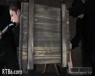 Stormy Caning For Lusty Chick - scene 11