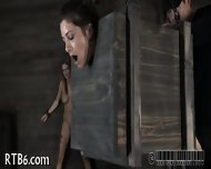Stormy Caning For Lusty Chick - scene 12