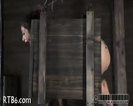 Stormy Caning For Lusty Chick - scene 7