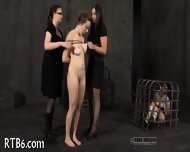 Titty Torture For Naughty Chick - scene 9