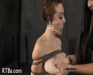 Titty Torture For Naughty Chick - scene 10