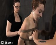 Titty Torture For Naughty Chick - scene 11