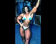 Female Bodybuilding Fbb Bodybuilder Bbw Femdom - scene 9