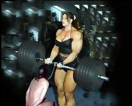 Female Bodybuilding Fbb Bodybuilder Bbw Femdom - scene 3