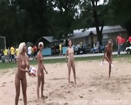 Naked Beach Volleyball - scene 3