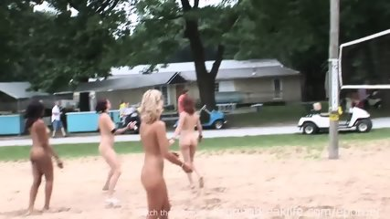 Naked Beach Volleyball - scene 4