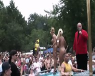 Naked Oil Wrestling - scene 1