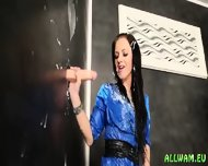 Slimy Glory Hole For Euro Hottie - scene 7