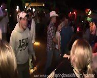 Spring Break Club Footage - scene 1
