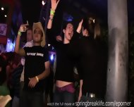 Spring Break Club Footage - scene 10