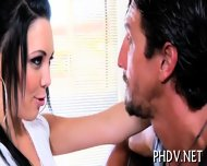 Deepthroat From Busty Gal - scene 2