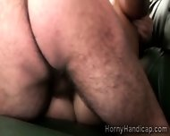 Red Haired Milf Gets Her Hungry Coochie Pumped By Hairy Handicap - scene 7